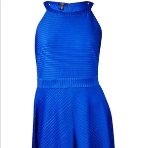 NEW Alfani Cobalt Sea Blue Cocktail Dress